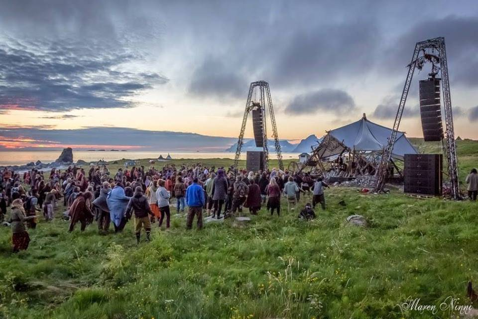 Midnight Sun Festival 2014. Norway. 3 days with no darkness.
