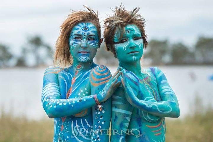 12- abi watson and cara mel at maitraya festival photo by Spinferno {Fire & Photography}