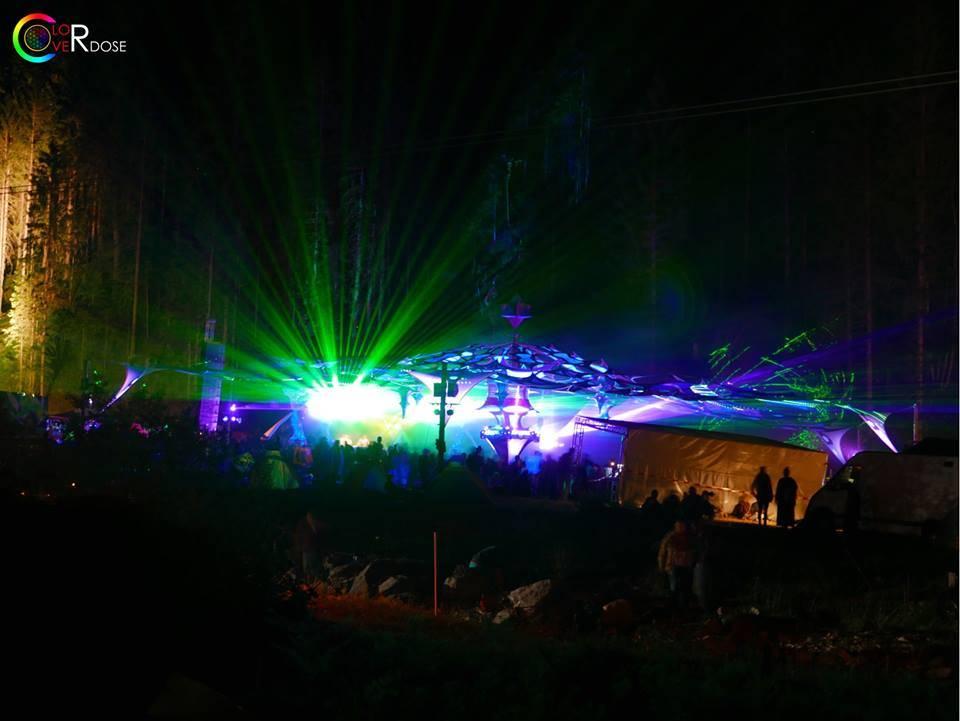 ColorOverdose Deko & Light 2 One Love Festival