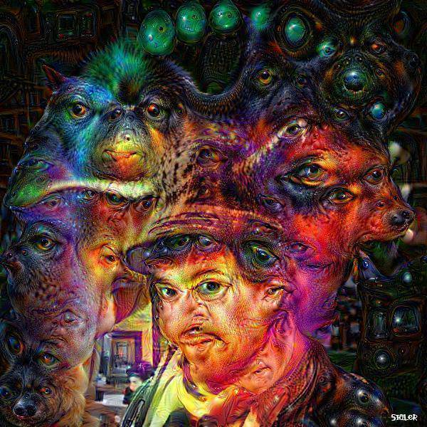 Psychedelic Google Deep Dream pictures shpongle