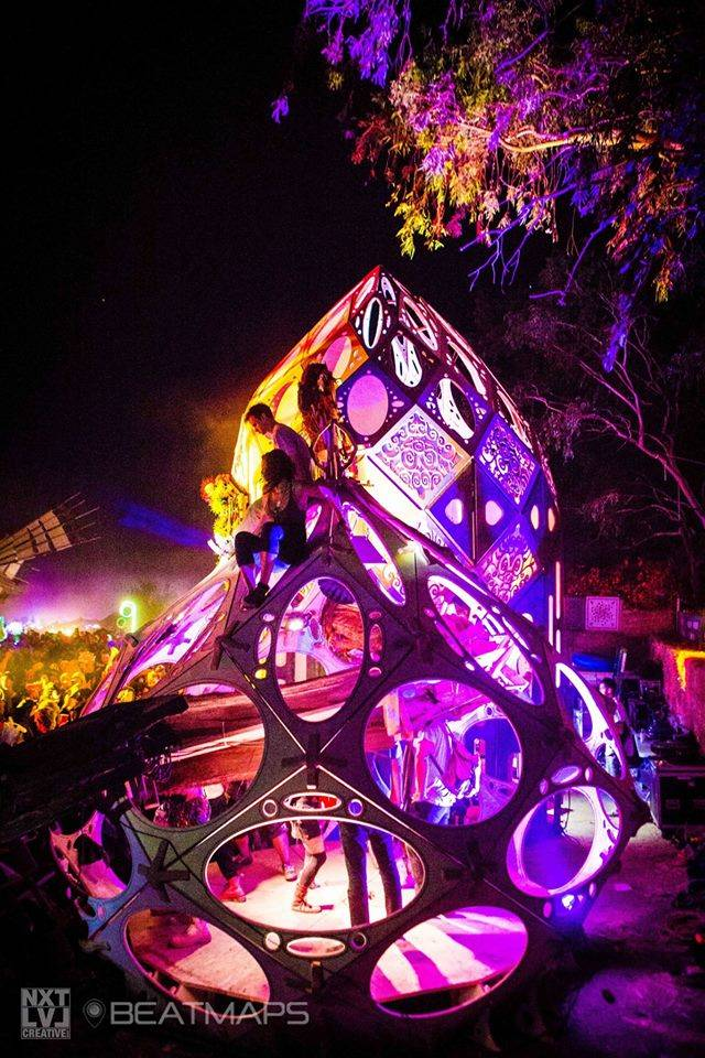Psychedelic deco from Symbiosis Festival