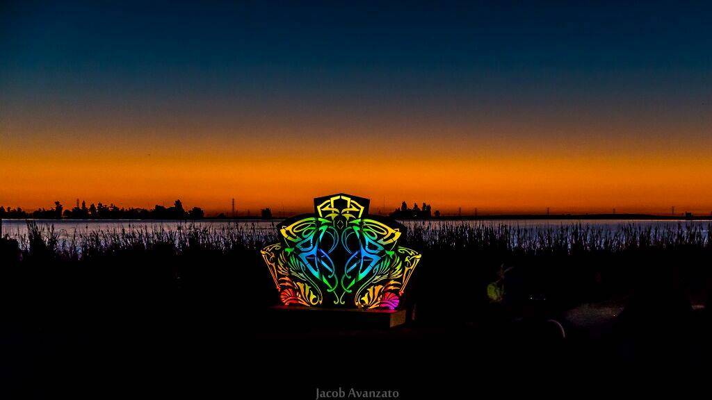 Psychedelic deco from Symbiosis Festival pictures