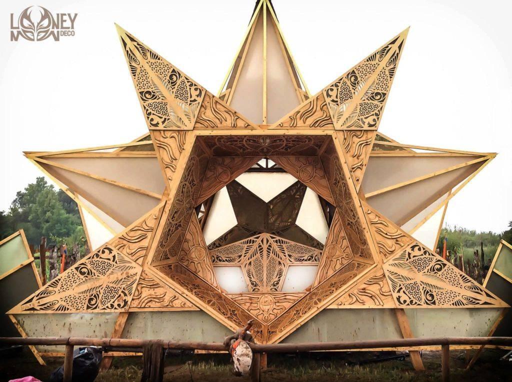 Looney Moon Deco at croatian festival