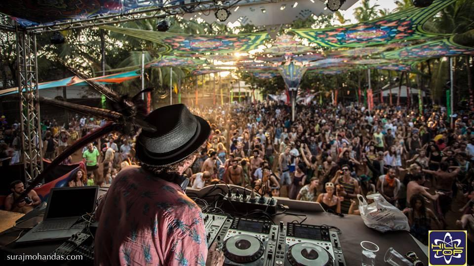 hilltop festival goa 2020