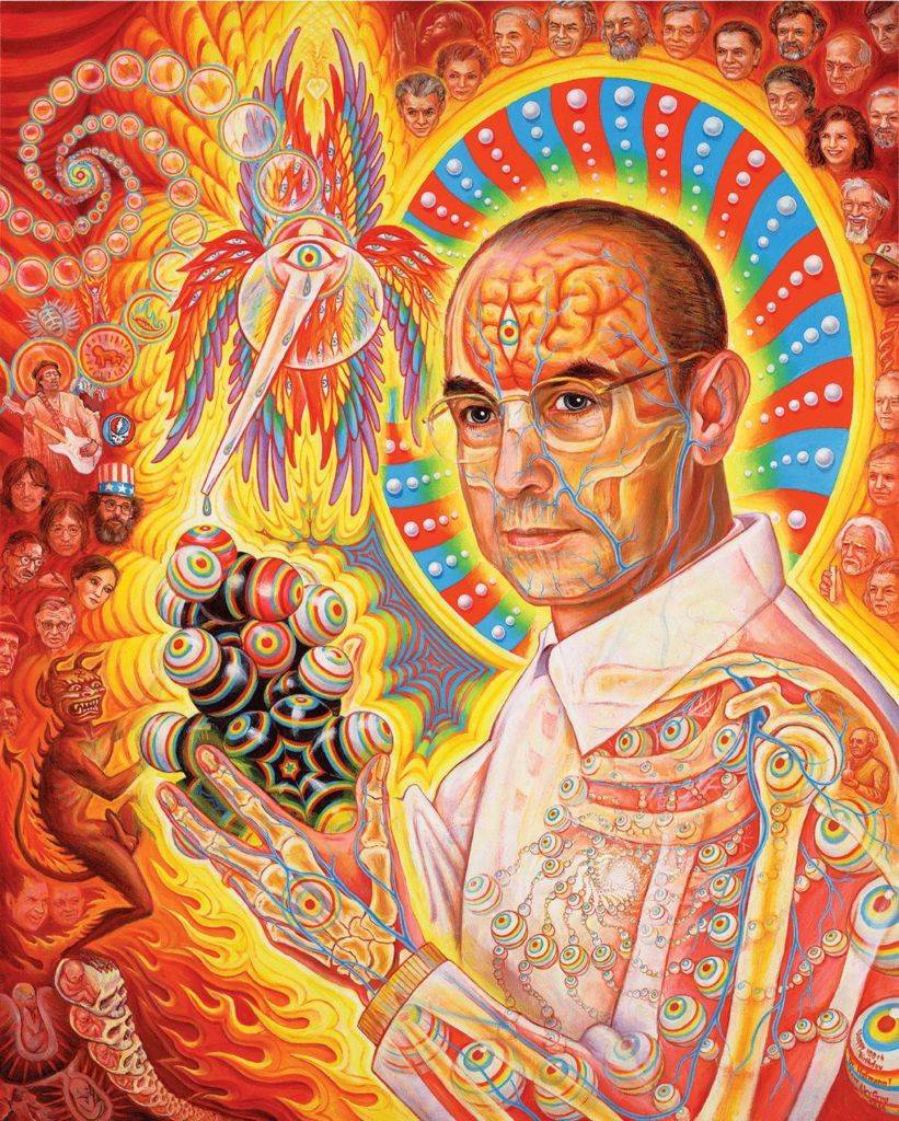 The magical Alex Grey doctor albert Hoffman