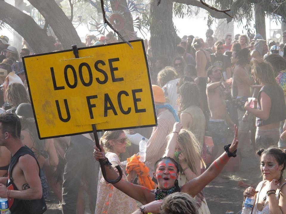 lose u face