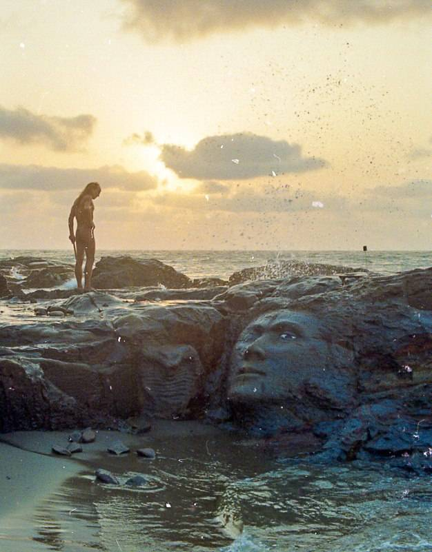 Behind goa beach rocks hidden cambootytk - 1 2