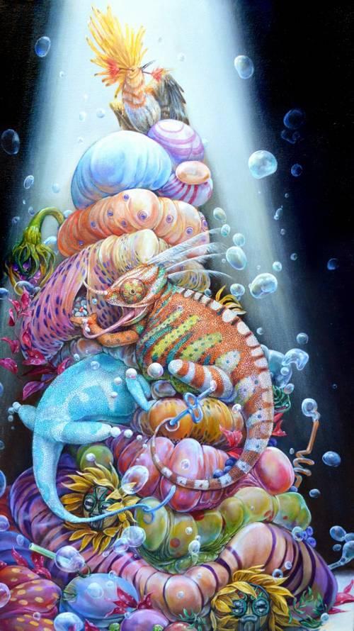 Psychedelic Art of Hanna Faith Yata Certified Organic