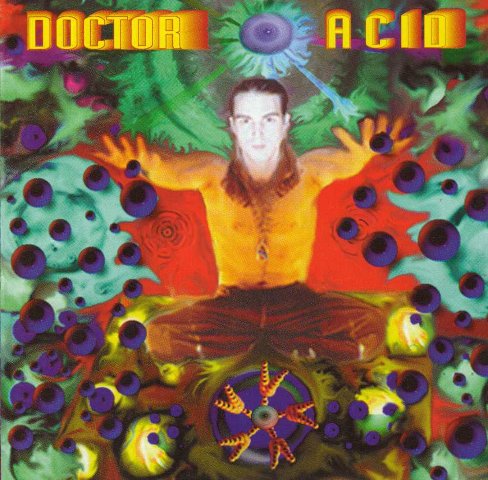Doctor Acid Classic Goa Trance CD Covers
