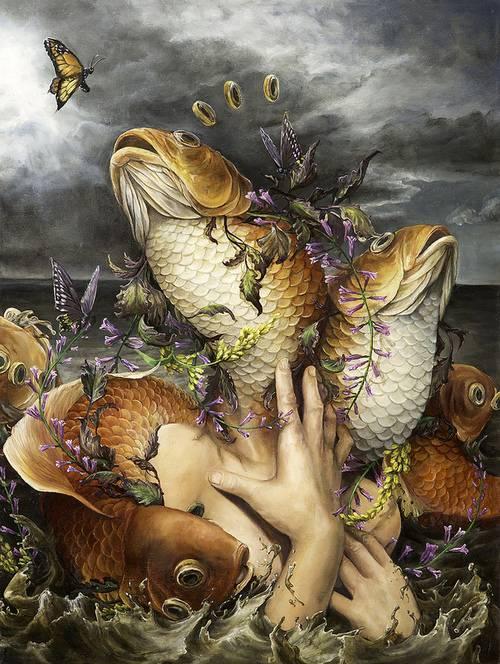 Psychedelic Art of Hanna Faith Yata Monarch