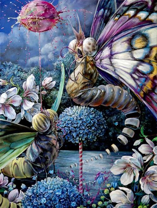Psychedelic Art of Hanna Faith Yata Postal