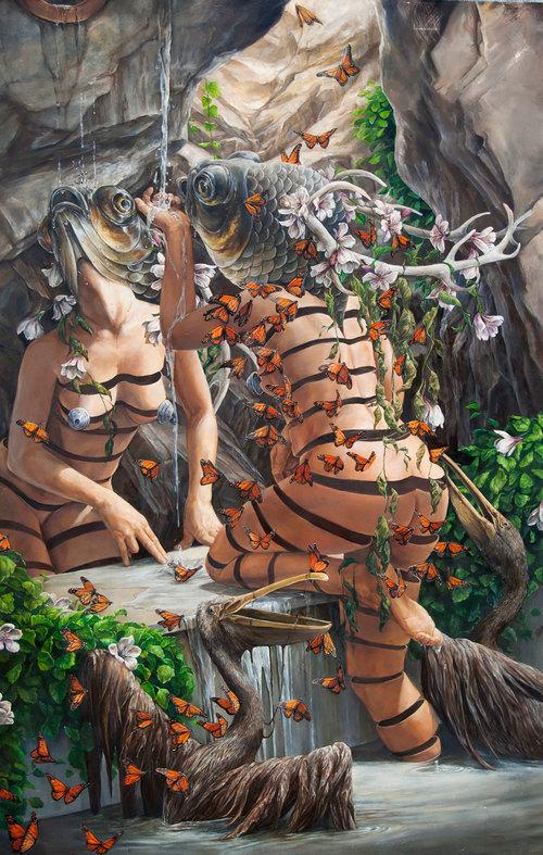 Psychedelic Art of Hanna Faith Yata moors