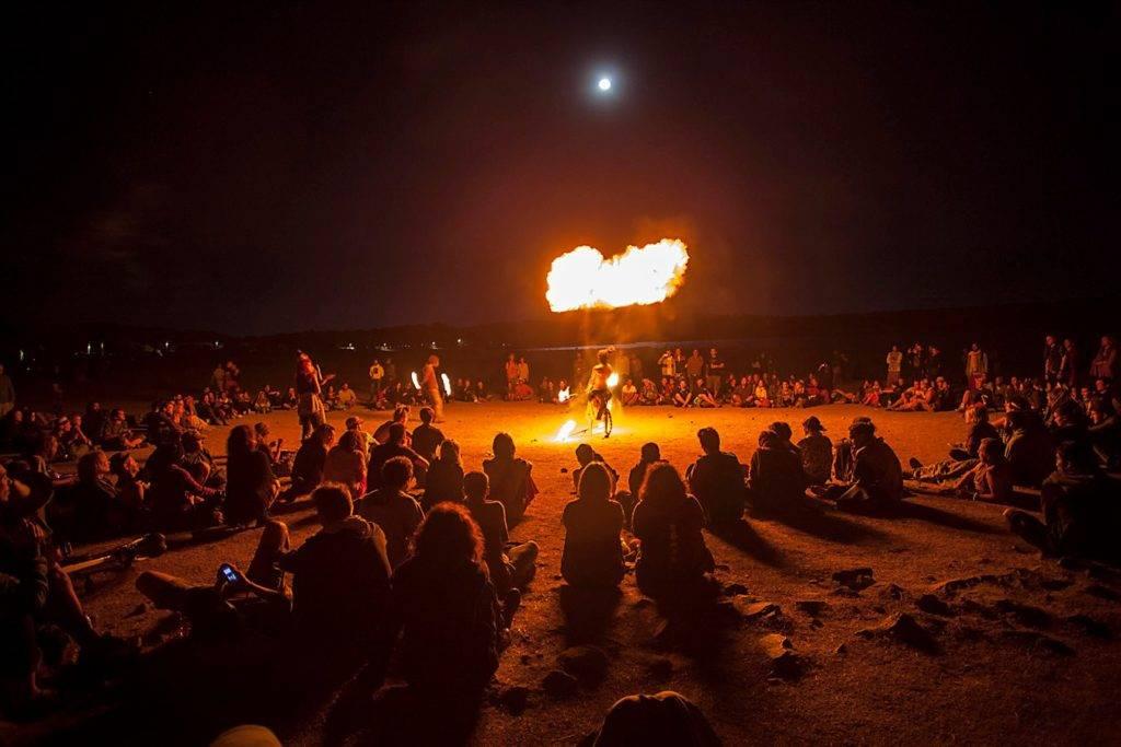 Boom Festival Fire Show