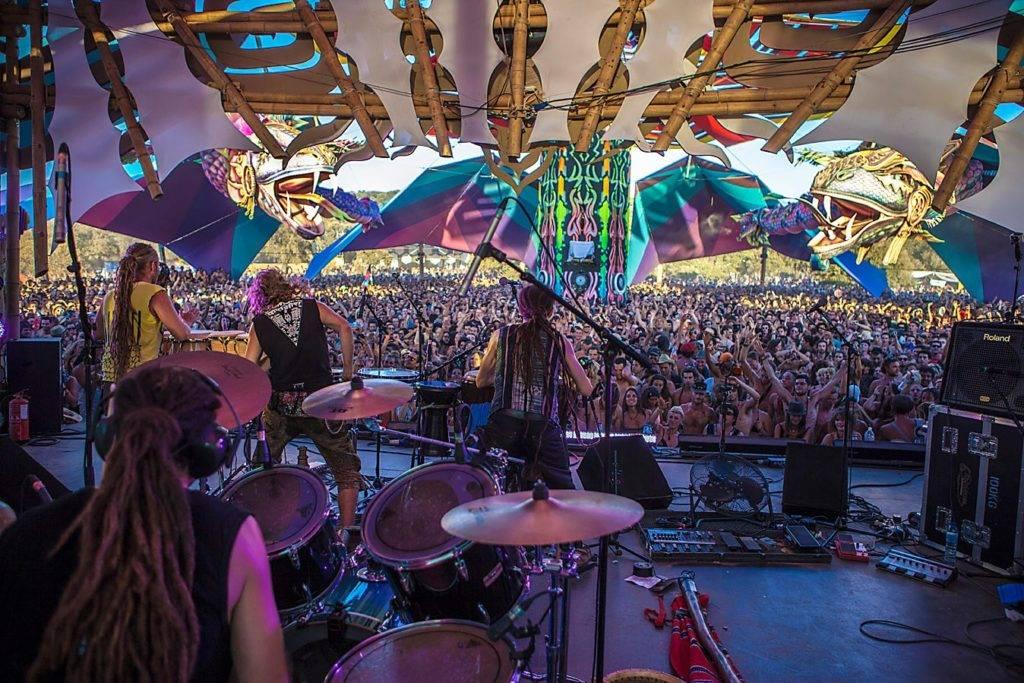 Boom Festival 2012 Dance Temple