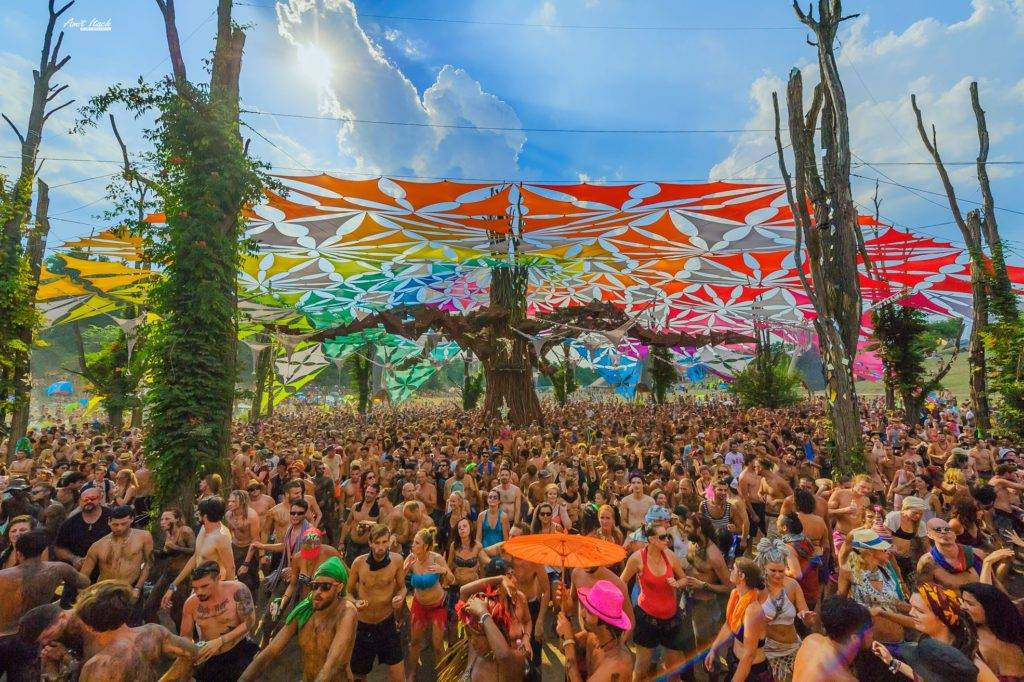 Ozora 2015 mighty dancefloor