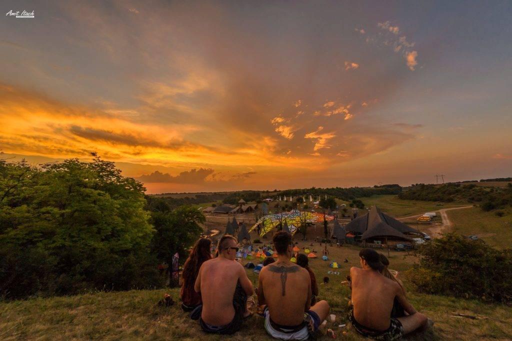 Ozora 2015 sunset