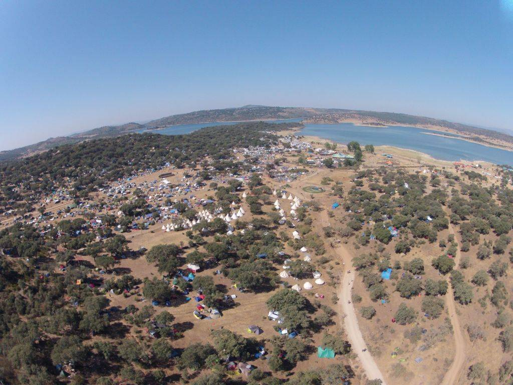 Boom Festival Venue from the air