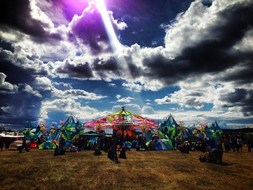Antaris Project Festival 2014 - stage decoration