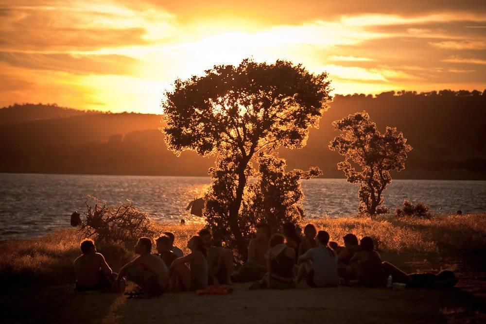 Boom Festival 2010 Sunset