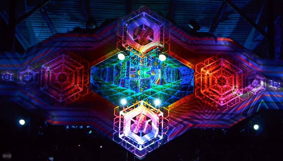 Kosmos Festival 2016 - magical stage decoration