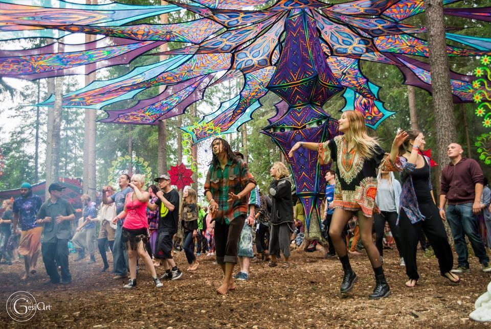 Kosmos Festival 2016 dancefloor