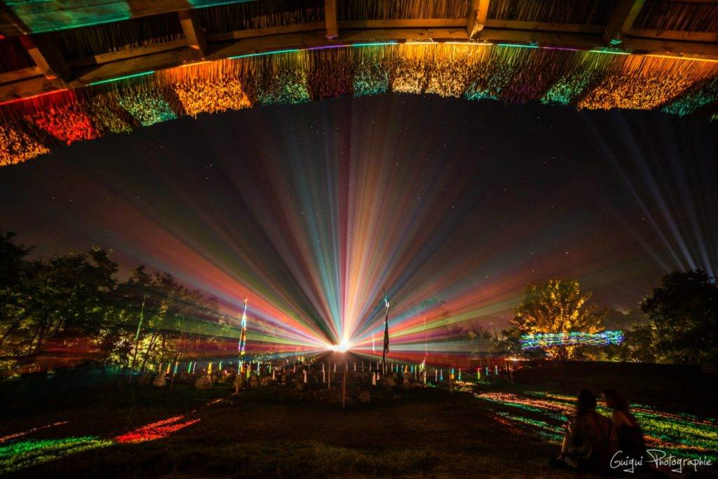 Ozora 2015 lasers