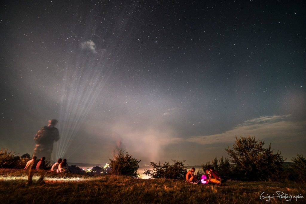 Ozora 2015 night sky
