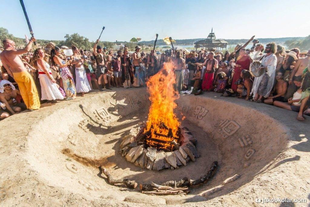Boom Festival 2014 Sacred Fire