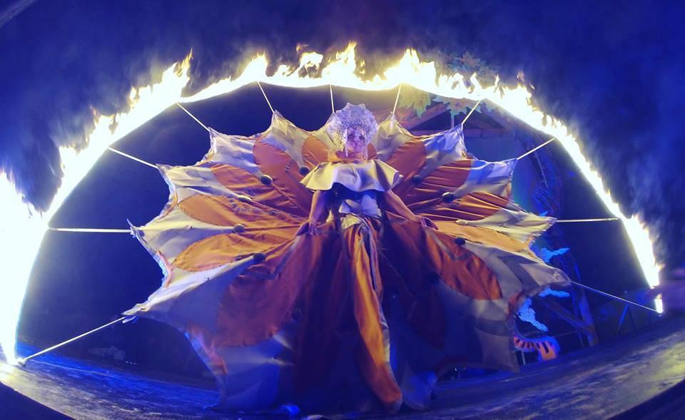 Linda Farkas 2015 Psy-Fi fire lady