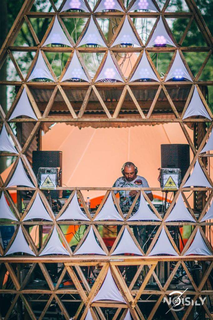 Noisily Festival of Music and Arts Festival 2016 stage