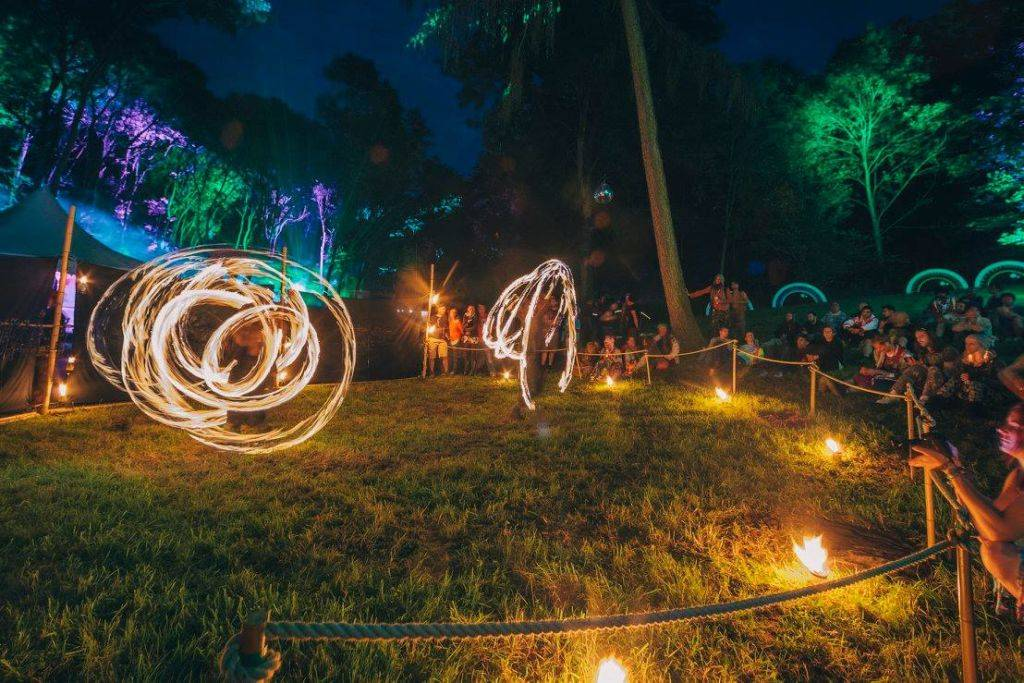 Noisily Festival of Music and Arts Festival 2016 lights