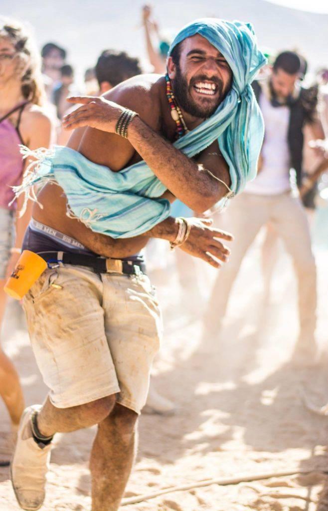 Midburn 2016 dancing