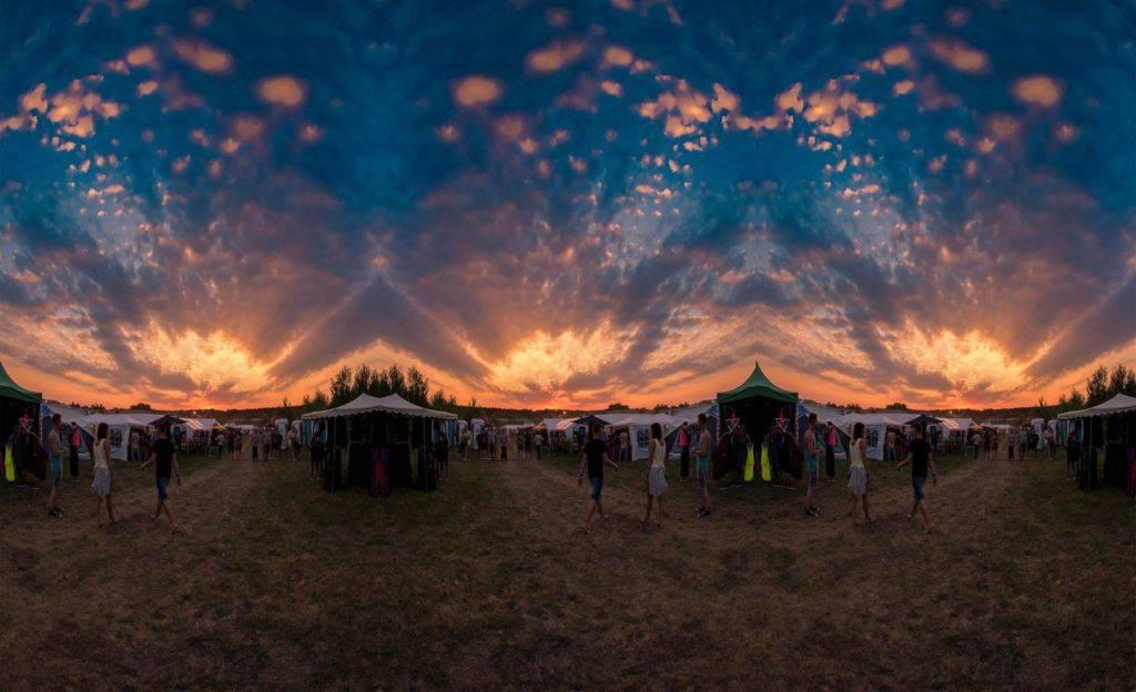 Flow Festival 2016 sunset
