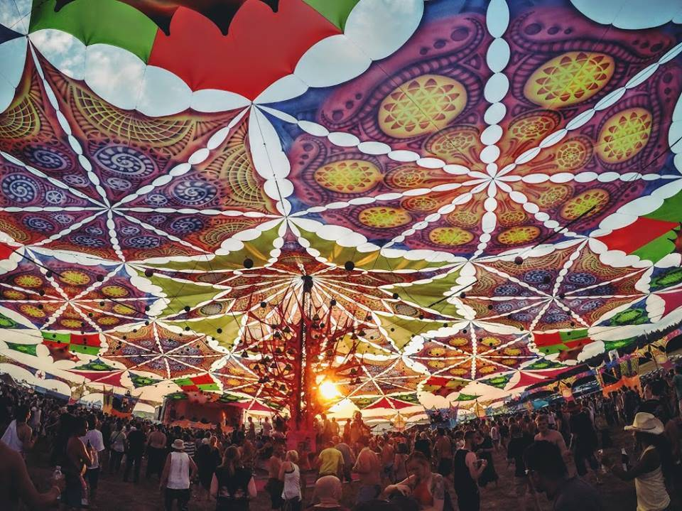 Antaris Project Festival  2015 colorful decoration