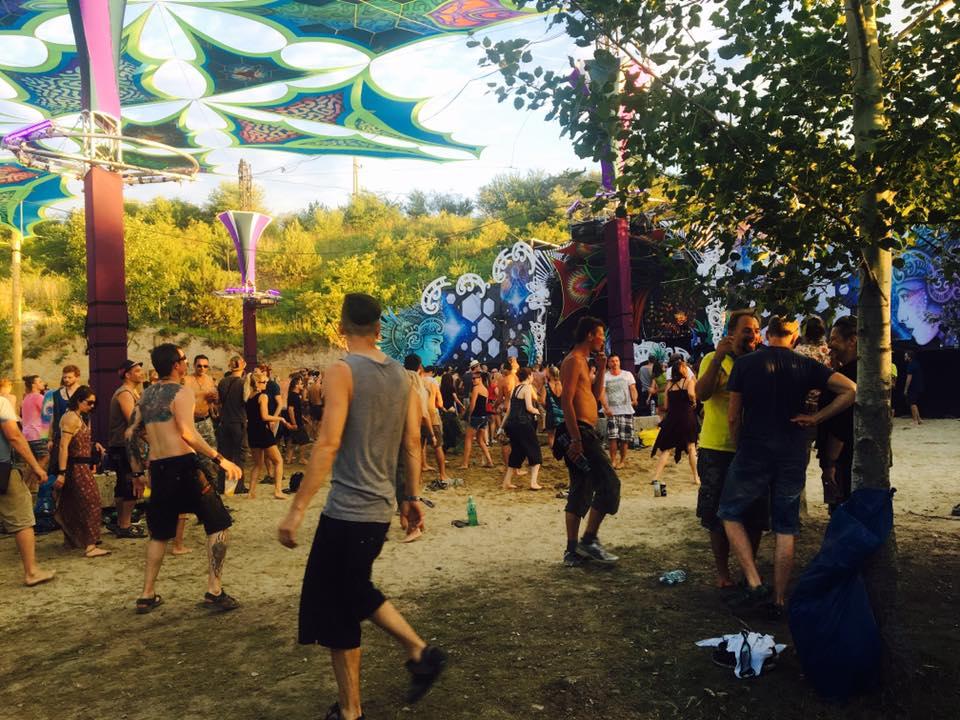 Flow Festival 2016 dancefloor