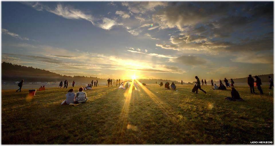 Antaris Project Festival 2014 beautiful sunset
