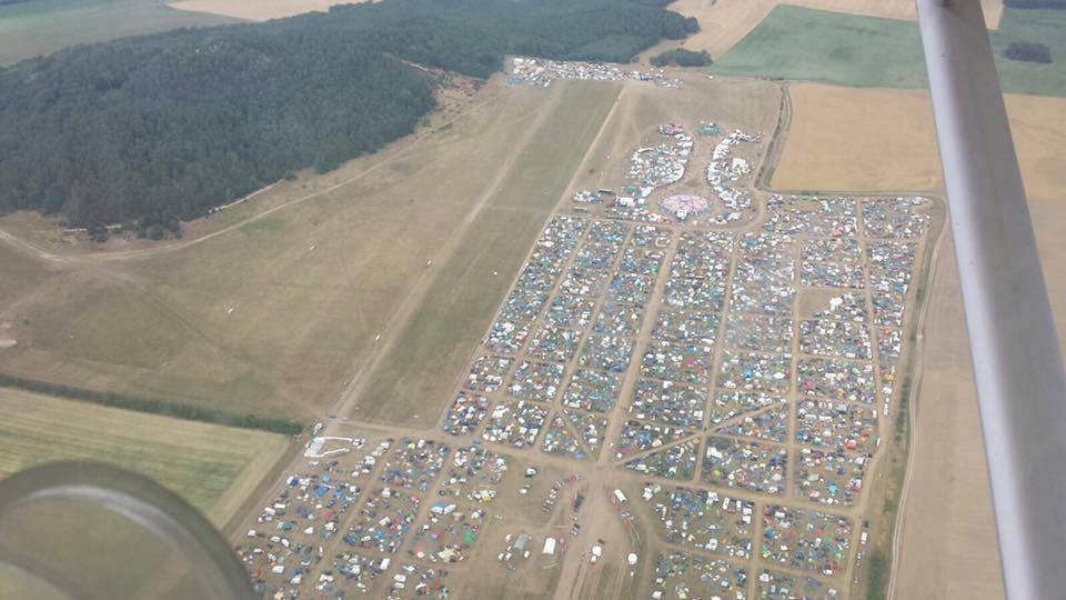 Antaris Project Festival 2016 from the air