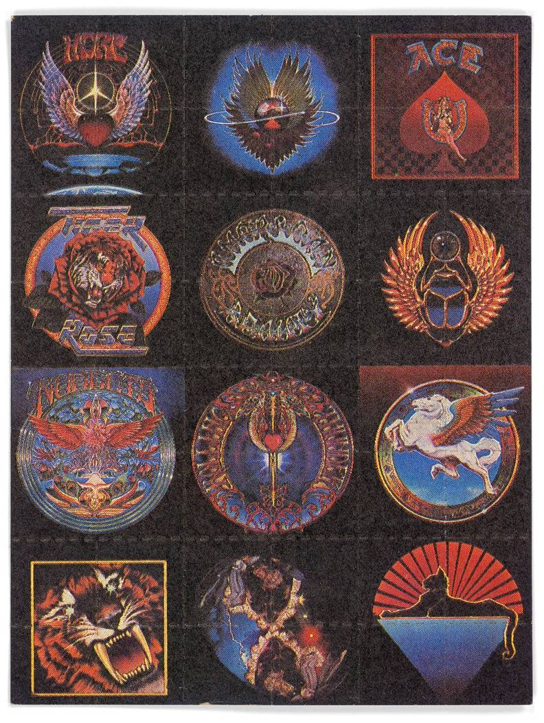 12 Dead album covers 1985_Blotter Baba