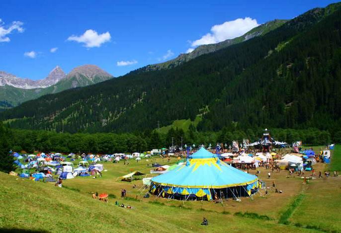 Summer Never Ends Festival location