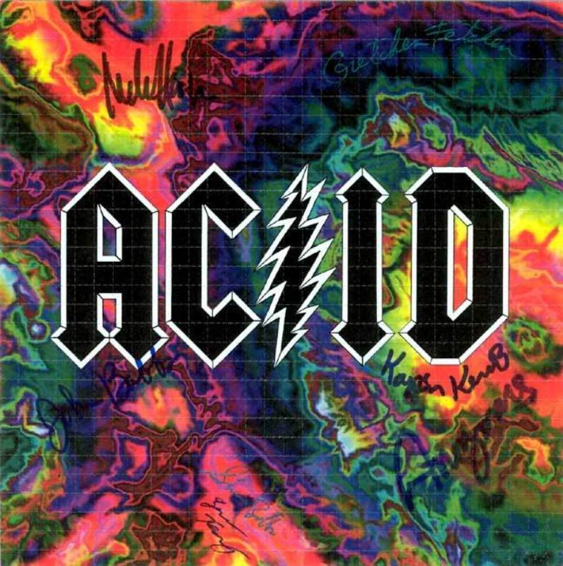 ACID signed by the merry pranksters