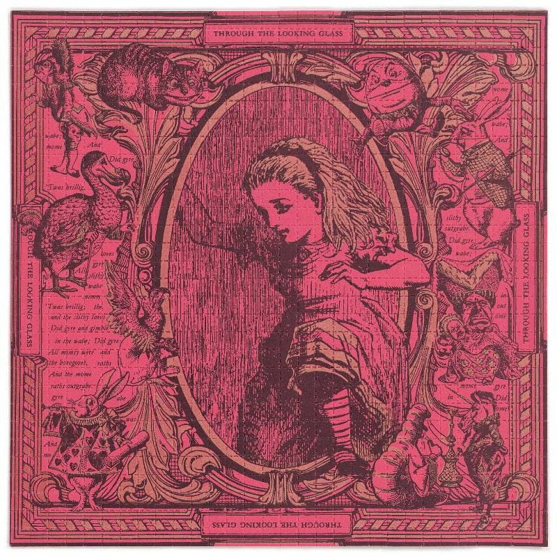 Alice through the looking glass 1993_Blotter Baba