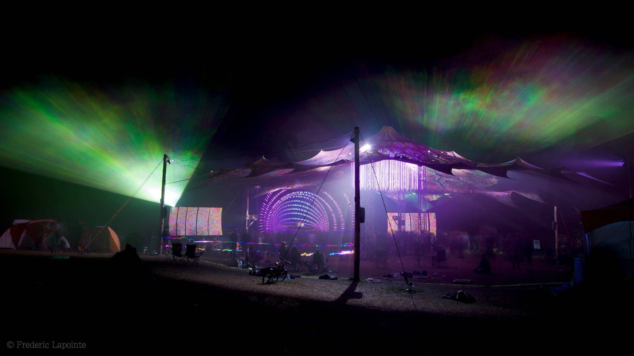 Eclipse festival 2016 dancefloor at night