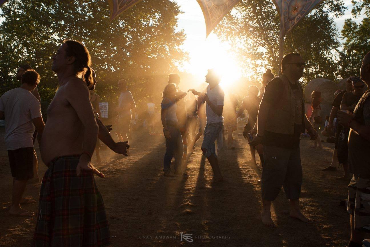 Eclipse festival 2016 sunset