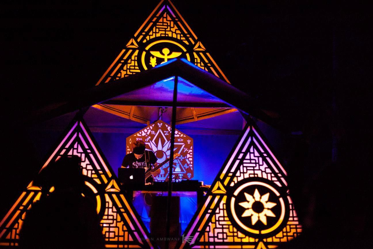 Eclipse festival 2016 stage decoration