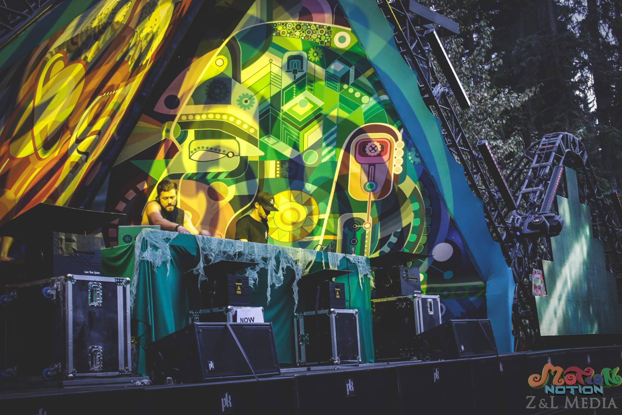 Motion Notion 2016 stage decoration