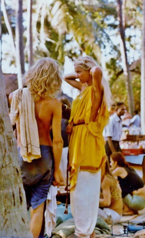 Anjuna Flea Market mid 1970s