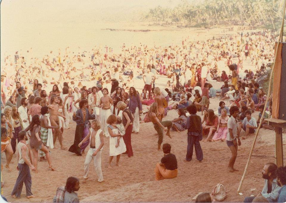 New Years Eve party Goa 1979