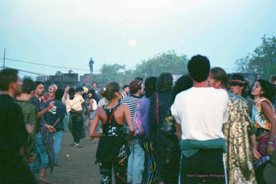Party on Chapora Fort Goa 1988
