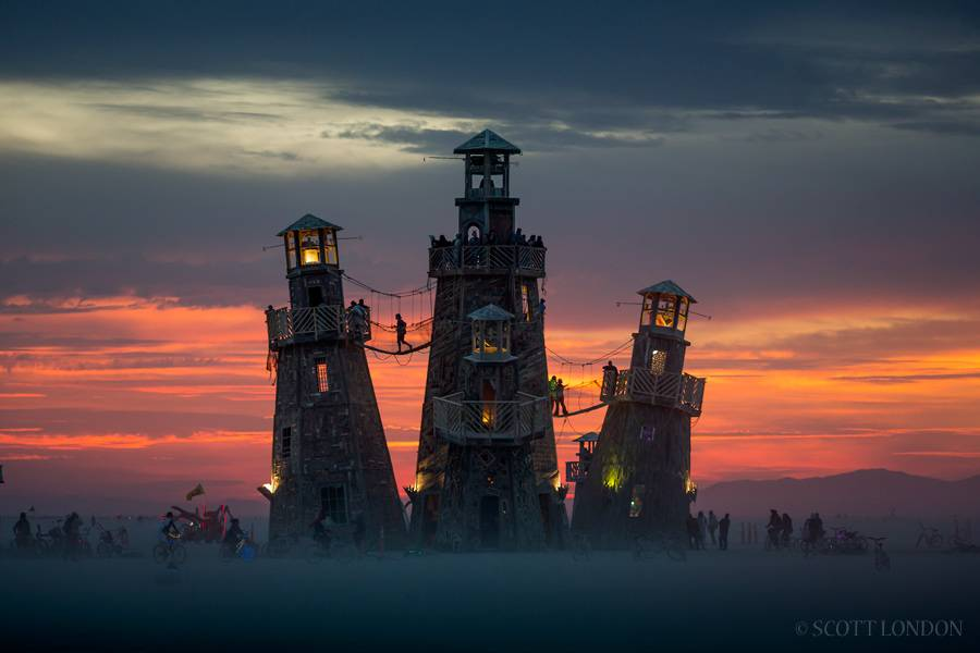 Burning Man 2016(Photo by Scott London)