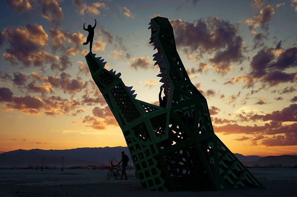 victor-habchy-photography burning man 2016 fall into crocodiles mouth